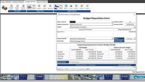 EACOMM releases Annual Budget Management Software